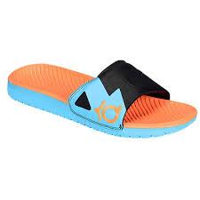 kd slides nike kd slides orange blue shoes