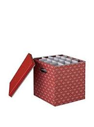 the ornament storage box keeps your ornaments clean and safe