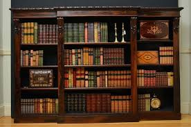 Vintage Bookcase With Glass Doors Antique Bookcase Antique Bookcase Glass Doors Best Antique