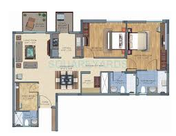 1 bhk 950 sq ft apartment for sale in silverglades the melia