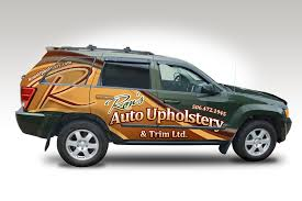 Car Upholstery Company Emerge Designs U2013 Ron U0027s Auto Upholstery Vehicle Wrap