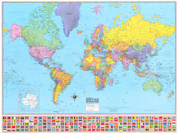 Show Me A World Map Map Of The World Poster Large Show Me A Map Of The World