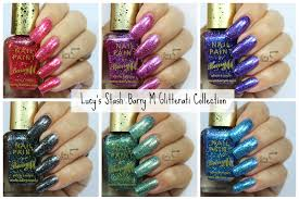 barry m glitterati collection review u0026 swatches lucy u0027s stash