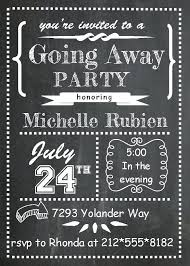 farewell party invitation idea oscar party invitation template and going away party flyer