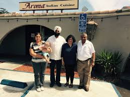 aroma indian cuisine dr kiran with harjeet and kailash at harjeet s aroma indian