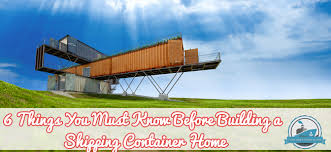 Storage Container Homes Floor Plans 6 Things You Must Know Before Building A Shipping Container Home