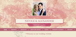 our wedding website best tips for a wedding website live at the