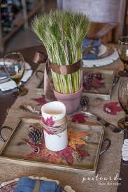 centerpiece for thanksgiving a rustic natural thanksgiving centerpiece postcards from the ridge