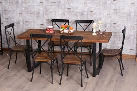 wood and wrought iron table american restaurants to do the old wood furniture wrought iron