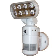motion detector light with wifi camera versonel nightwatcher pro pir led light wifi camera white the
