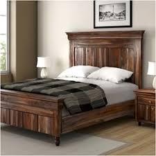 Solid Wood Bed Frames Rustic Solid Wood Platform Beds Sierra Living Concepts
