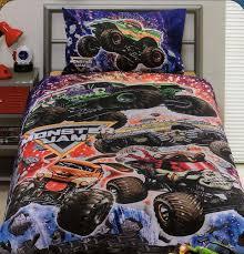 new monster jam trucks details about monster jam trucks grave digger single quilt cover