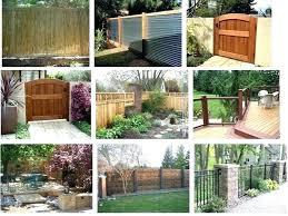 Backyard Privacy Ideas Cheap Backyard Privacy Fence Ideas Conceptcreative Info