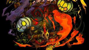 cool halloween background ghost pokemon wallpaper group 66