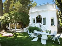green house house with pool in barcelona 6674197