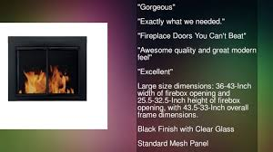 pleasant hearth glass fireplace door pleasant hearth an 1012 alpine fireplace glass door black large