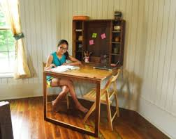 Bedroom Furniture For College Students by Kid U0027s Fold Down Desk For Homeschool Bedroom Or Classroom