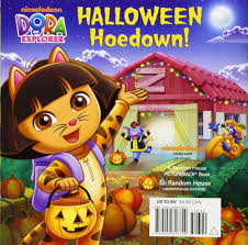 halloween hoedown dora the explorer pictureback r molly