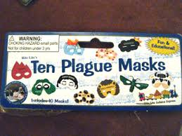 passover plague masks ten plagues masks these are the weirdest toys i ve se flickr