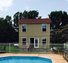 tuff shed the coolest of pool houses