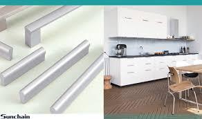 kitchen furniture handles sun chain slim cabinet handles aluminum furniture handles new