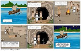 the odyssey comic strip storyboard by sarakoski177