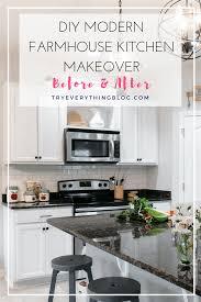 100 white kitchen makeovers our oak kitchen makeover gray