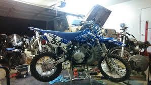 ttr125l playbike build