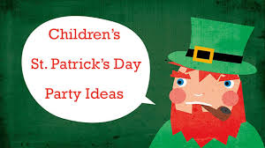 children u0027s st patrick u0027s day party ideas the eighty sixth floor