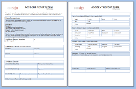 incident hazard report form template these sle report forms are free to use and