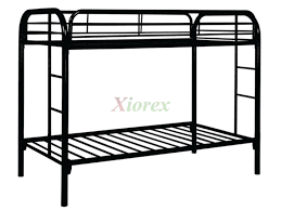 Metal Bunk Bed Frame Leo Metal Bunk Beds Canada Xiorex Futons Pinterest
