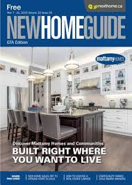 Mattamy Home Design Center Gta Gta New Home Guide May 16 2015 By Nexthome Issuu