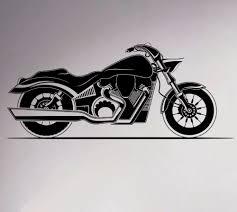 online get cheap garage wall mural aliexpress com alibaba group motorcycle wall vinyl decal motorbike sticker removable garage decor sport club home interior bedroom murals