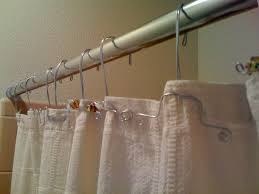 shower curtain rings but not the stupid plastic ones