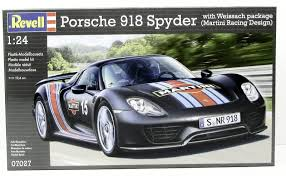 martini porsche 918 porsche 918 spyder revell 07027 1 24 new model sports car kit