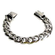 cuban link bracelet images Cuban link bracelet sterling silver biker bracelet bikerringshop jpg