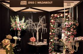 wedding show wildabout at the national wedding show flowerona
