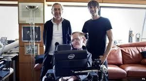 Stephen Hawking Chair Stephen Hawking Voices Monty Python Galaxy Song Bbc News