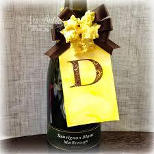 wine bottle bow really reasonable ribbon december 2014