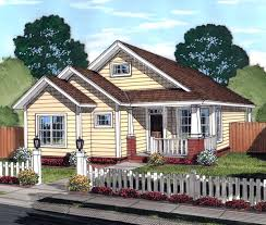 Cottage Bungalow House Plans by House Plan 61451 At Familyhomeplans Com