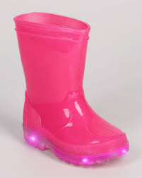 light up rain boots shoes dg58 jelly round toe pull on light up lighted rain