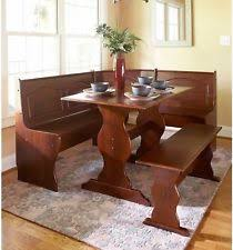Dining Room Bench Sets Breakfast Nook Dining Sets Ebay