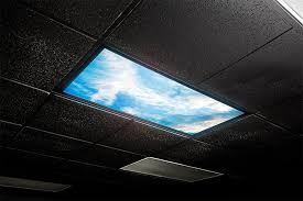 glow in the ceiling led skylight 2x2 dimmable even glow led panel light w skylens