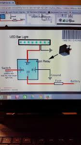 Yamaha Yfz 450 Wiring Diagram Simple Wiring Of 1 Led Light Bar Yamaha Grizzly Atv Forum