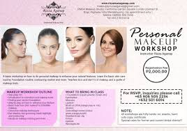 makeup artistry certification makeup workshop rizza mae aganap professional makeup artist