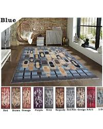 Red White And Black Rug Holiday Special 2x8 5x8 8x10 Rug Carpet Area Rug Blue Red Brown