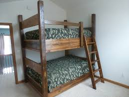 Farmhouse Full Bunk Bed Fence Row Furniture - Furniture row bunk beds