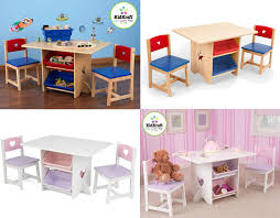 kids table and chair set childrens table u0026 chairs toy storage unit