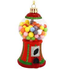 gumball machine glass ornament novelty nostalgia u0026 fun