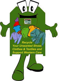 recycling fundraising ireland western care mayo clothing textile recycling